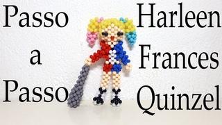 Harleen Frances Quinzel de miçangas passo a passo Parte 1