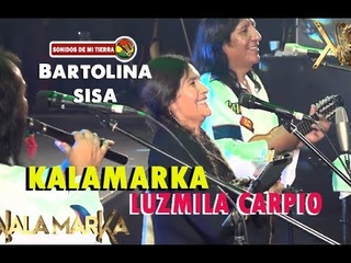 Kalamarka y Luzmila Carpio - Bartolina Sisa