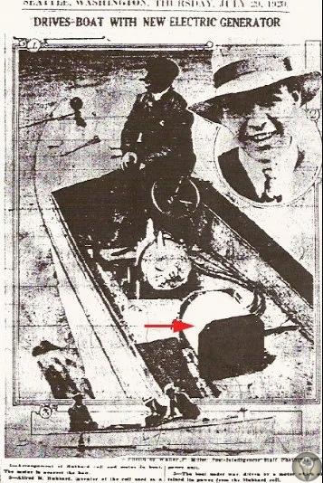 Потерянный генератор атмосферной энергии А.Хаббарда История изобретения Альфреда Хаббарда берет начало в 1919 году. Именно тогда изобретатель, которому было всего шестнадцать лет, показал