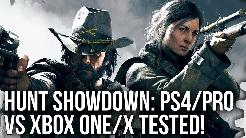 Hunt Showdown PS4 Pro Xbox One X Crytek's Latest Tested On All Consoles