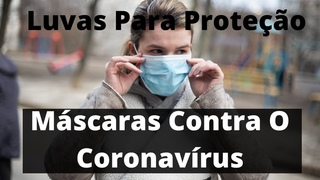 Mscaras Contra O Coronavrus Luvas Para Proteo Contra Vrus Facial Masks