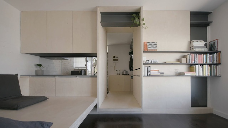 NEVER TOO SMALL ep 7 Micro Apartment Design George