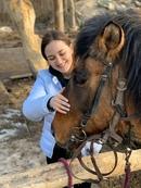 Наши гости 😊 приятно дарить положительные эмоции ✌️🐎😊 #наши_гости #пегий_конь #проводите_время_с_пол