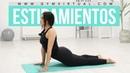 Rutina de estiramientos para crecer unos centímetros   Mejorar la postura de la espalda
