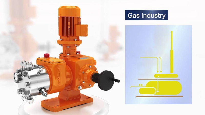 Prominent Evolution® Hydraulic Metering Pump - Flexible Usage