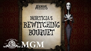 THE ADDAMS FAMILY | DIY: How To Make Morticias Halloween Bouquet | MGM