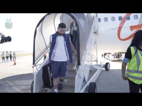 SelecciónMayor ¡Llegamos a Belo Horizonte! VamosArgentina