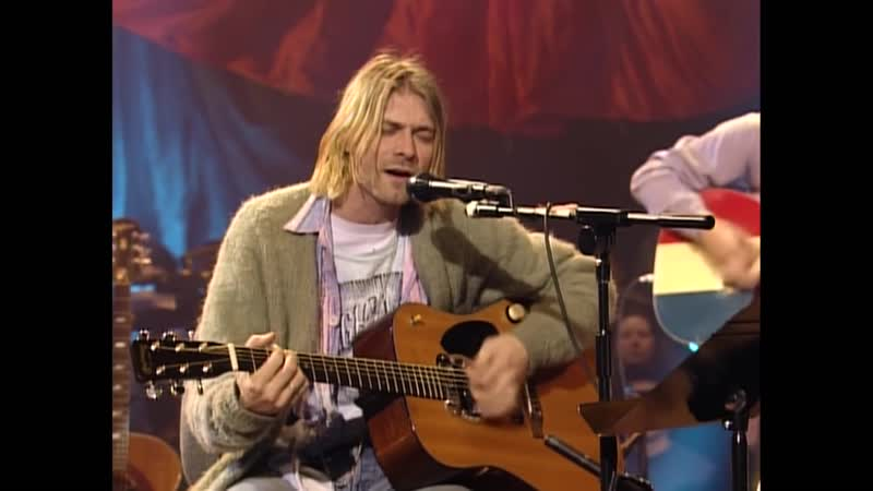 Nirvana About A Girl Live On MTV Unplugged 1993 Unedited