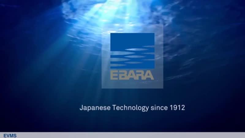 Насосы Ebara серии EVM S Обзор Конструкция Принцип работы