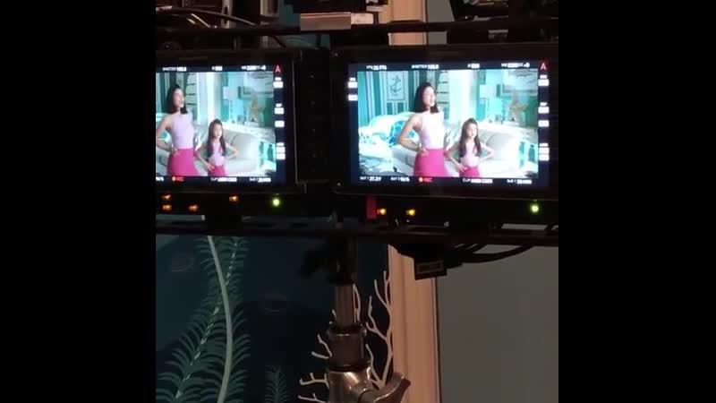 Видео со съёмок финального сезона «Девственницы Джейн»