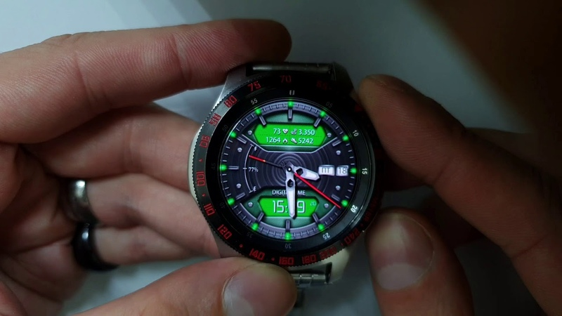 TRANSFORM PRO WW43 Customise Multilang watchface for Samsung Gear Samsung Galaxy watch