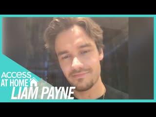 Liam Payne & Louis Tomlinson Talk A Lot About Fatherhood | #AccessAtHome [RUS SUB]