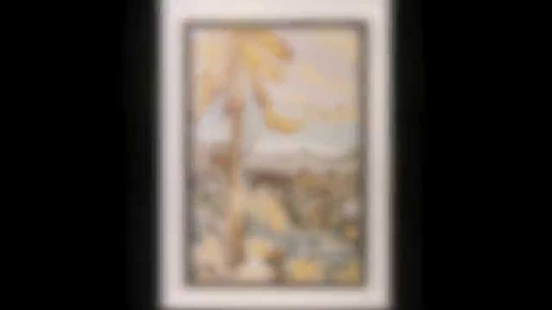 А.Н.Скрябин. Этюд, ор.8, №11. Cилуэты. Художник В.Никонков. Ю.Дикий фортепиано.