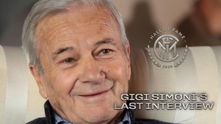 GIGI SIMONI'S LAST INTERVIEW with INTER TV | INTER HALL OF FAME 2020 🙏🏻🖤💙 [SUB ENG]
