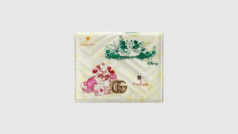 Gucci Disney x Gucci GG 마몽 카드 케이스지갑 디즈니 콜라보레이션 グッチ ディズニーコラ