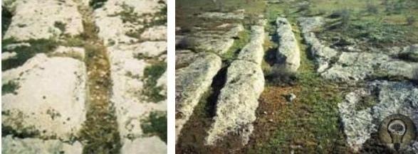 Мегалитические колеи в камне на Каспийском побережье, которые учёные пока не объяснили Апшерон уникальная земля, знаменитая крупными месторождениями нефти.Встречаются в этом регионе интересные