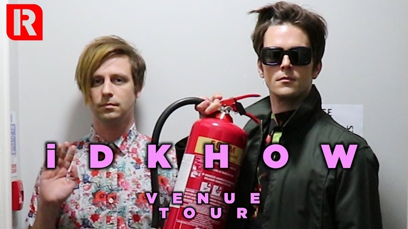 IDKHOW s Dallon Ryan Behind The Scenes Venue Tour