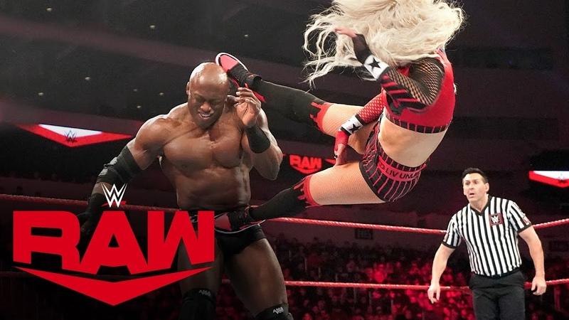 Liv Morgan Rusev vs Lana Bobby Lashley Raw Jan 20 2020