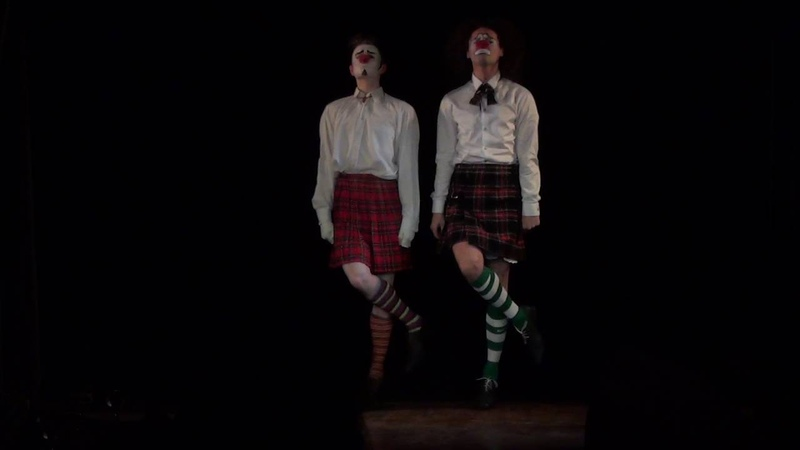 Клоун-мим театр МиМЕЛАНЖ - номер Ирландский танец