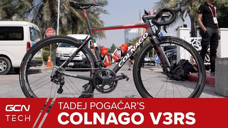 Tadej Pogačars Colnago V3RS Pro Bike | Slovenian Superstars Italian Stallion