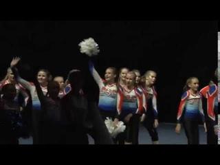 Cheerleading .Junior Cheer Coed Elite Finland Dust Devil.