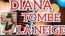 DIANA ANKUDINOVA REACTION TOMBE LA NEIGE LIVE