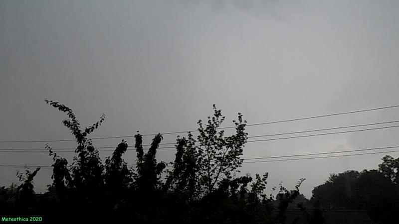 Гроза с сильным ливнем в Гомеле 28 июня 2020 Meteothica