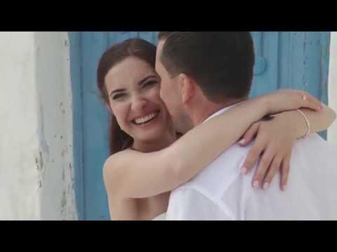 ANNA IVAN SANTORINI WEDDING