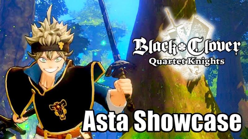BLACK CLOVER QUARTET KNIGHTS Character Showcase Magic Abilities Attacks Asta