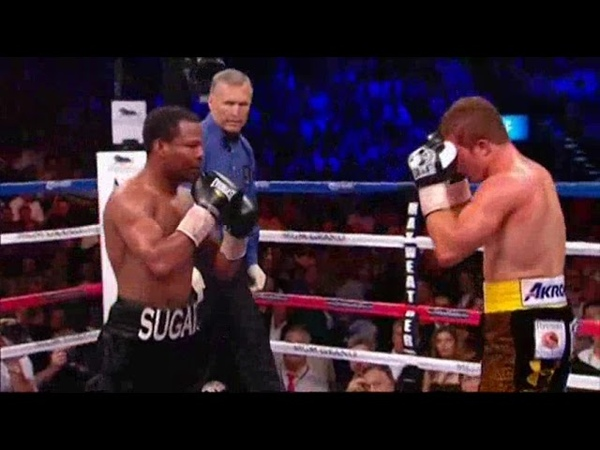 Saul Alvarez Shane Mosley highlights boxing video