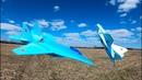 MiG-29 RC Plane maiden flight Crash