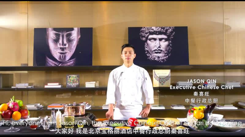 Рецепт приготовления традиционного для Северного Китая блюда Креветки в зеленом саду