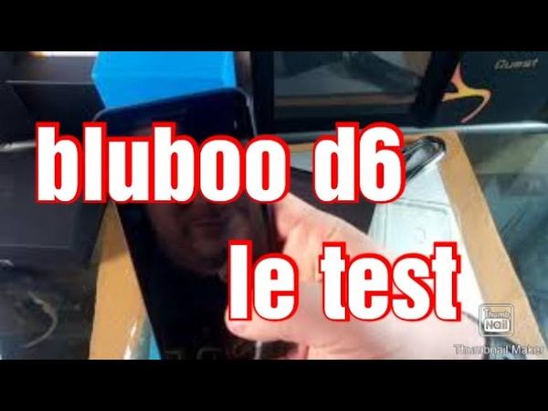 Обзор BLUBOO D6 с Амазона на французском языке