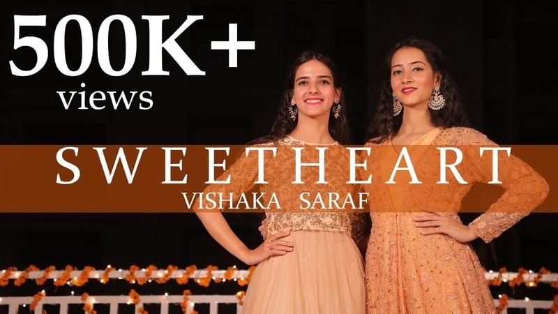 Sweetheart Dance Cover Kedarnath Vishaka Saraf Choreography Sushant Singh Sara Ali Khan