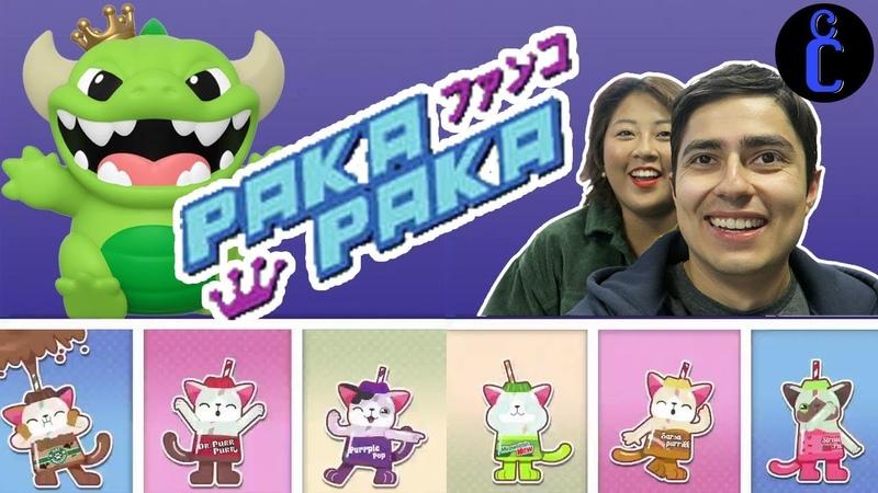 Trying Funko's PAKA PAKA Machine in New York City!