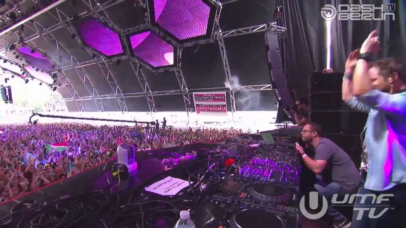 Dash Berlin live @ ASOT600 Ultra Music Festival Miami 2013 Set broadcasted by
