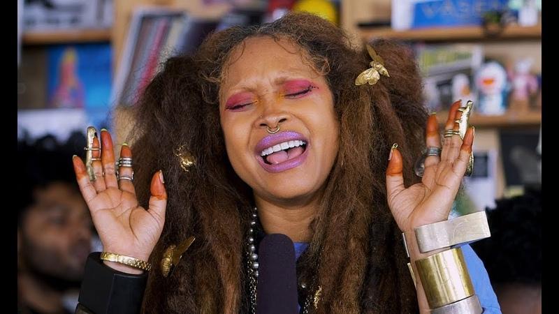Erykah Badu NPR Music Tiny Desk Concert смотреть онлайн без регистрации