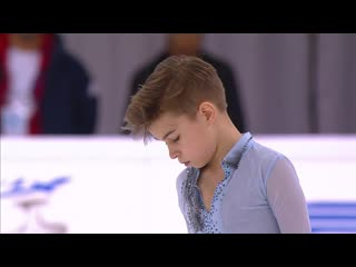 Daniil samsonov, sp russian nationals 2020
