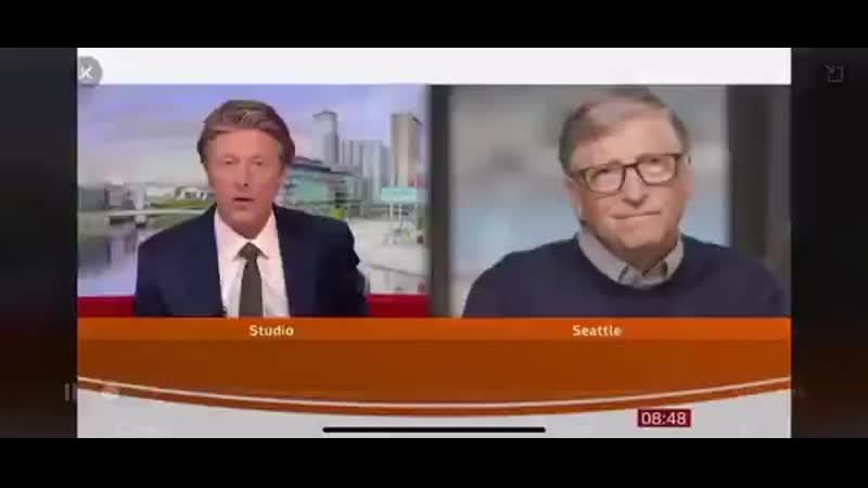 😱Bill Gates über seine Impfung mal grob zusammengefasst Der Impfstoff wird nicht sicher sein aber wir sollten ihn trotzdem