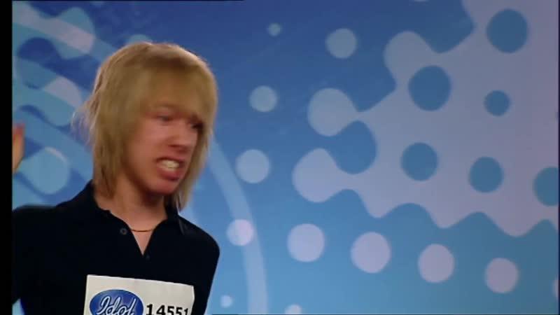 Idoljuryn blir mållös av Dragostea din tei Mai ya hee audition i Idol 2006 Idol Sverige TV4