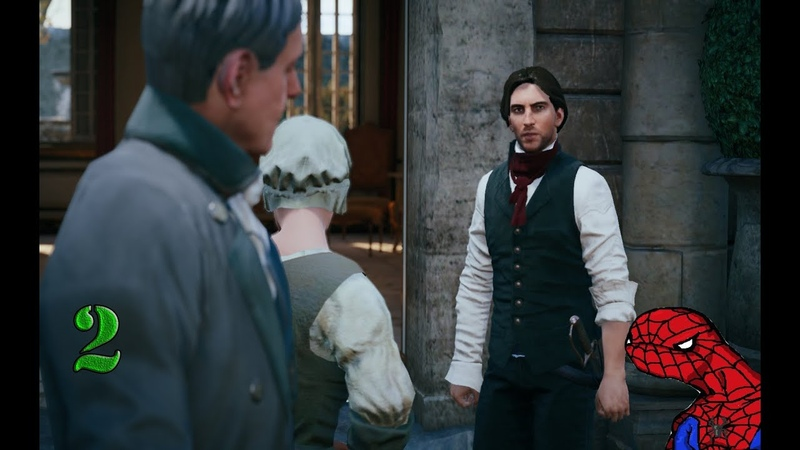 Assassin's Creed Unity|Знакомство с Элизой[Part 2]