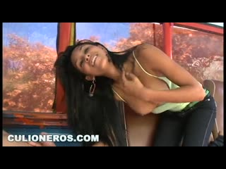 Young colombian babe boards a bus  gets fucked(порно,секс,русское,частное,домашнее,porno,минет,студентка,кончил,анал,blowjob)