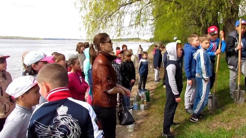 Посадка Аллеи Во Имя Любви Вечности и Жизни в г Краснокамск Пермский край