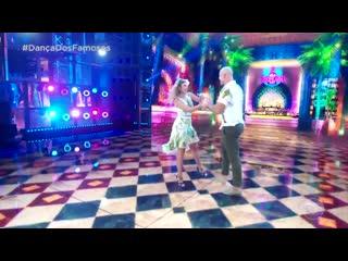 """Джуниор дос Сантос - Шестой танец в телешоу """"Танцы со звездами"""""""