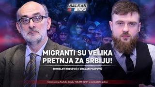 AKTUELNO: Tomislav Kresović i Dragan Pilipović - Migranti su velika pretnja za Srbiju! ()