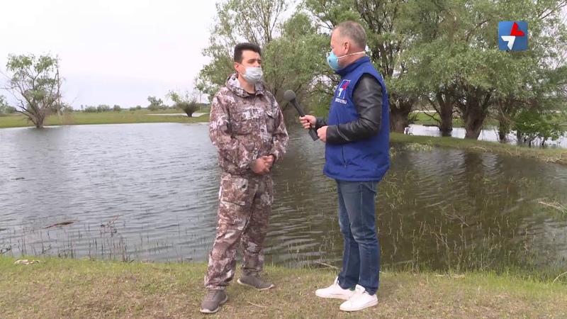 Астраханские рыбаки связывают с паводком 2020 большие надежды