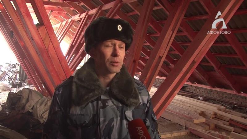 В Красноярске капитальный ремонт крыш делают осужденные