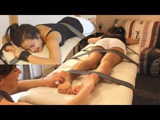 Hawaiian feet (soles) tickle