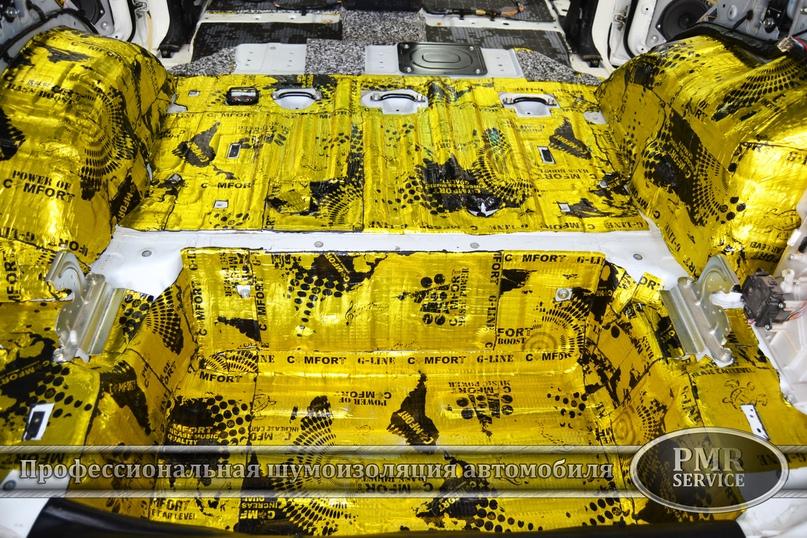 Шумоизоляция Mitsubishi Pajero, изображение №18