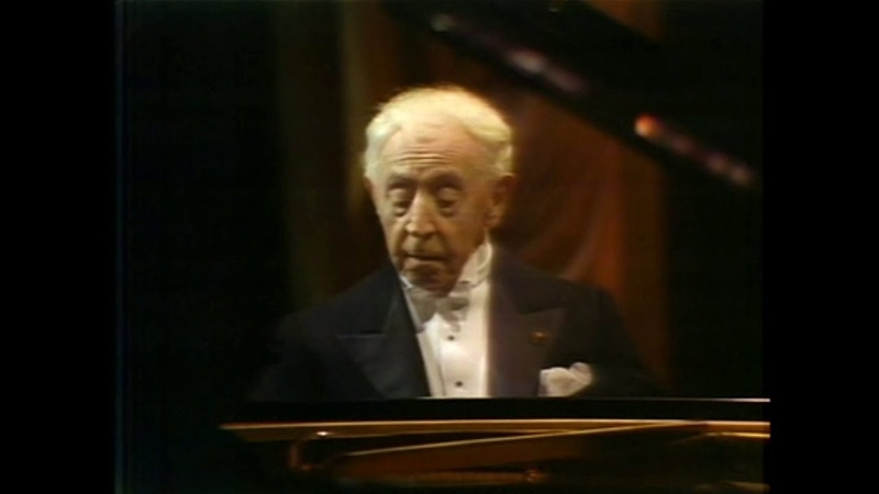 Arthur Rubinstein The Last Recital for Israel 1975 Beethoven Schumann Debussy Chopin